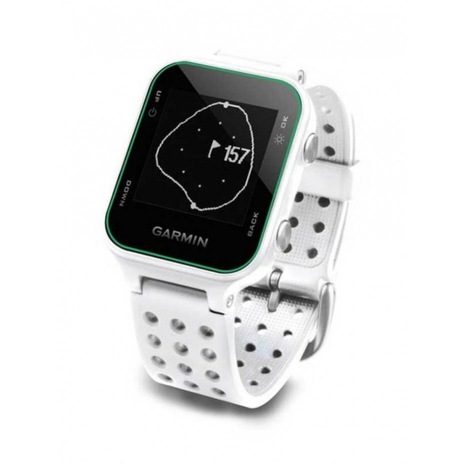Garmin Approach S20 GPS Watch White Band