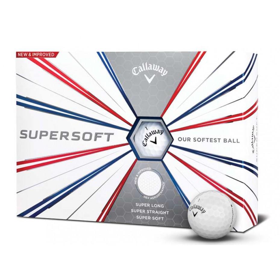 Callaway Supersoft 2019 Golf Ball White Per Dozen