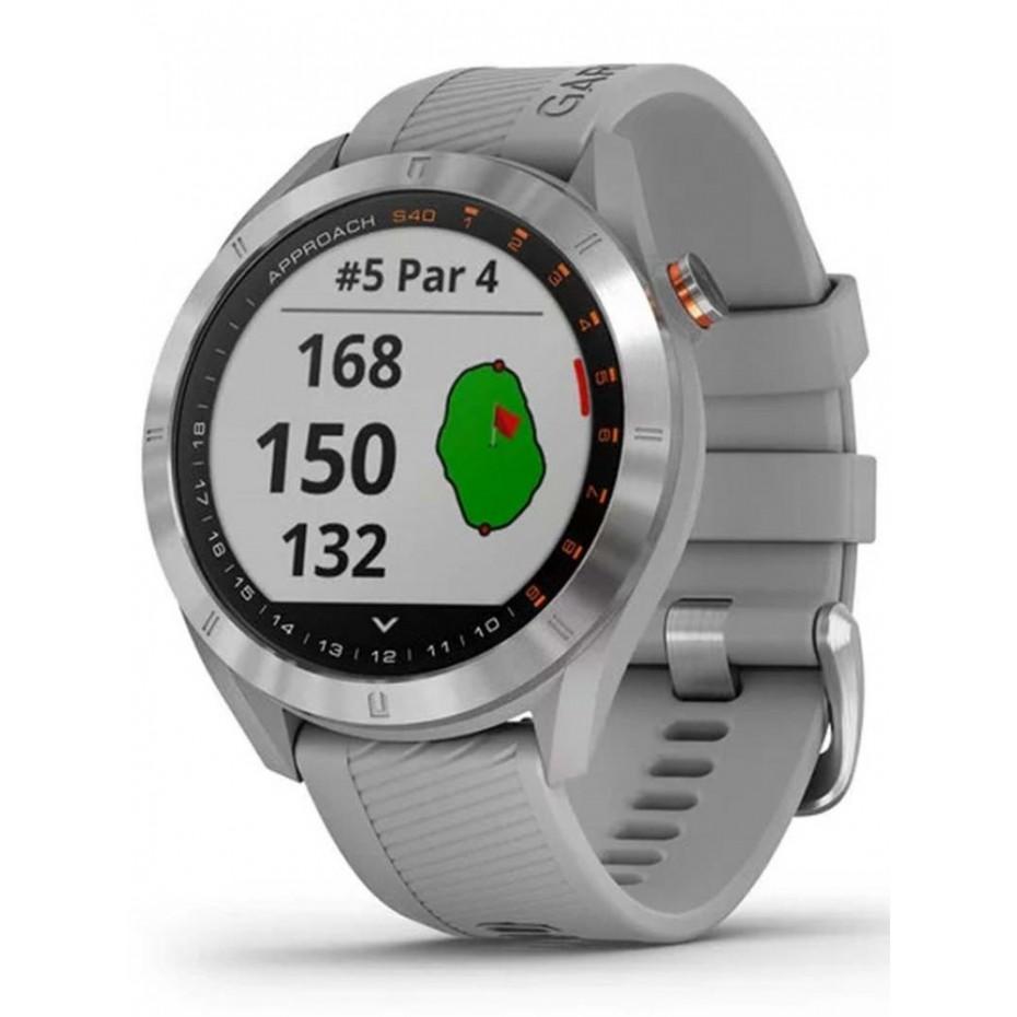 Garmin Approach S40 GPS Watch Silver