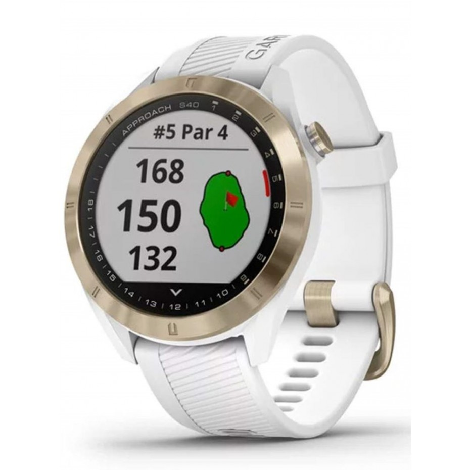 Garmin Approach S40 GPS Watch White