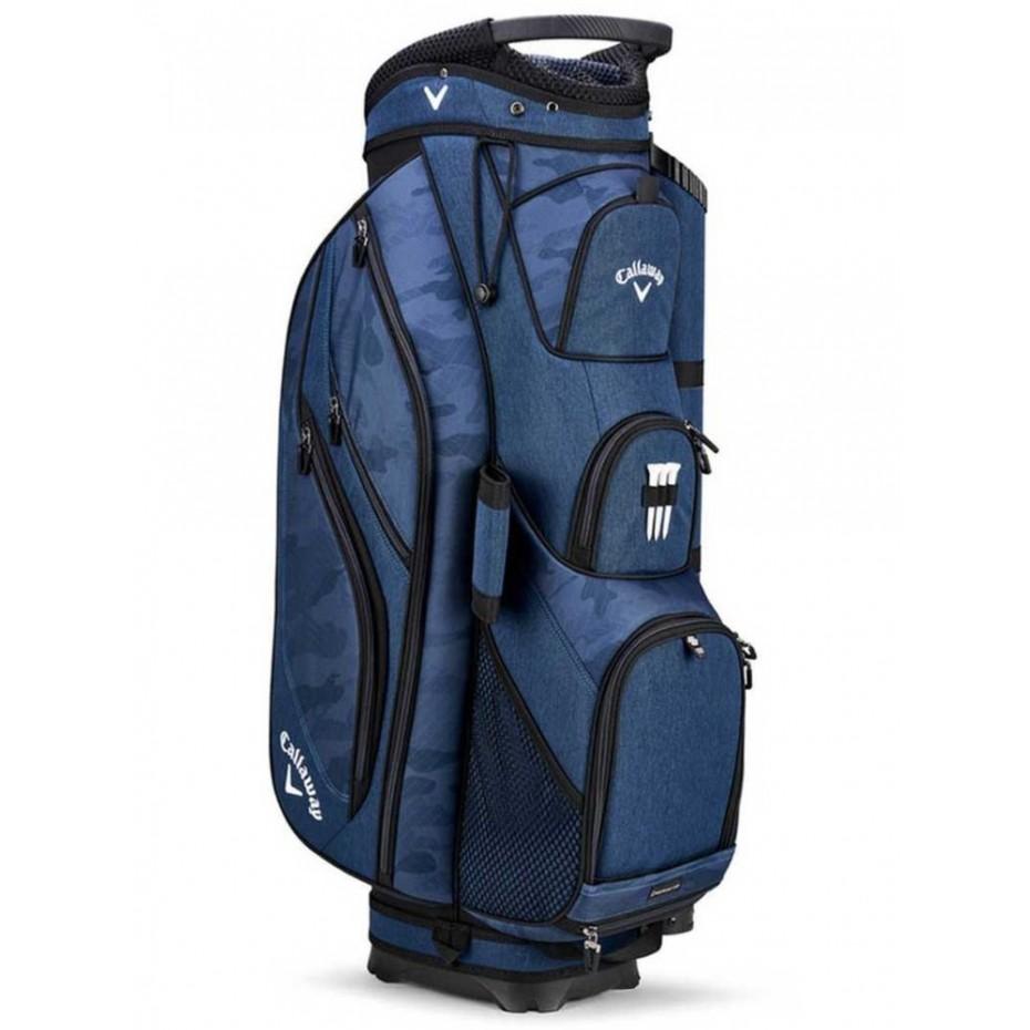 Callaway Forrester 19 Cart Bag Navy Camo Ryl