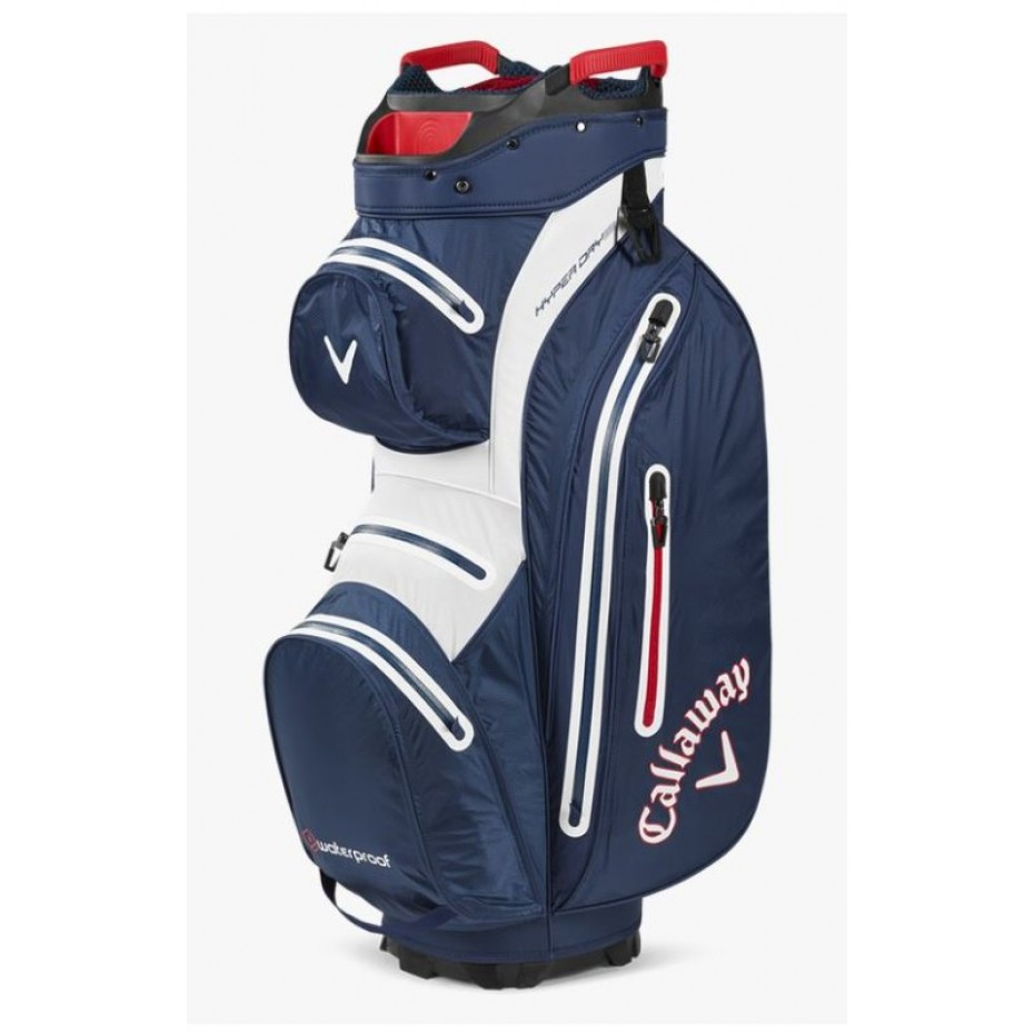 Callaway Hyper Dry 15 Golf Bag Navy White