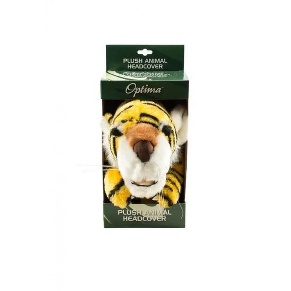 Optima Plush Animal Headcover Tiger
