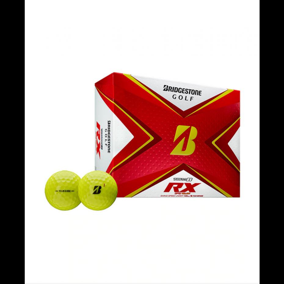 Bridgestone Tour B RX Golf Ball Per Dozen 2020 Yellow