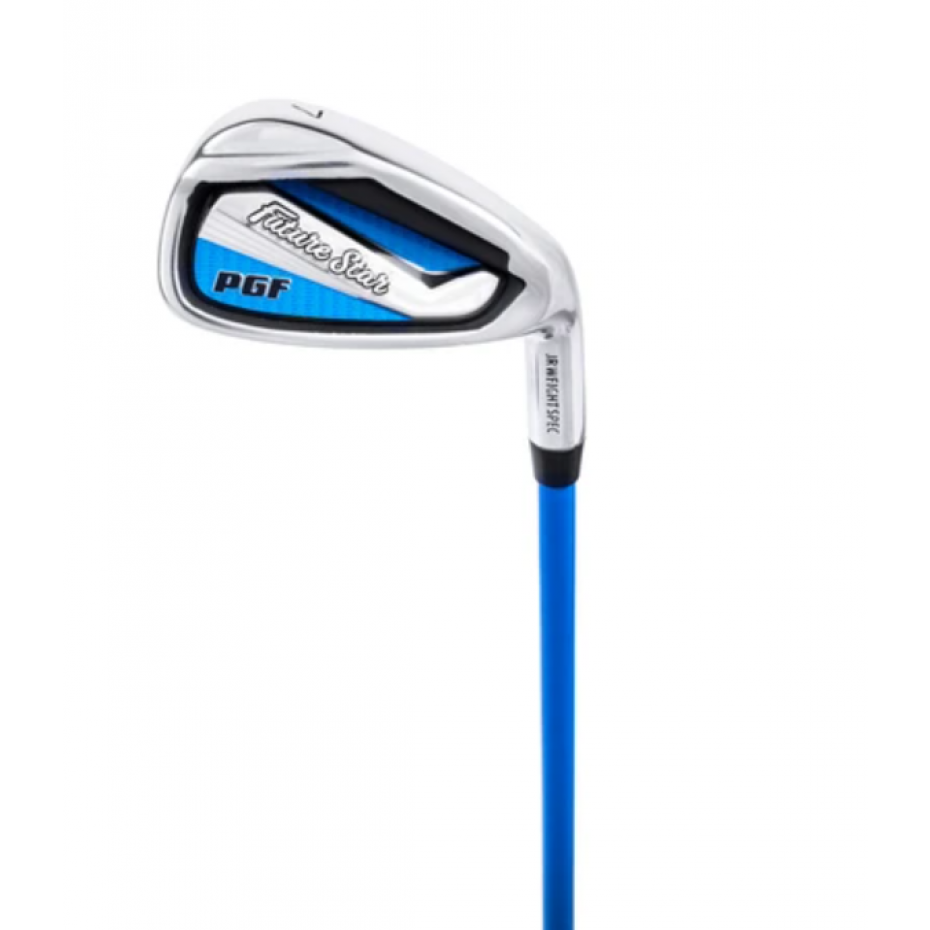 PGF Future Star 7 Iron - Right Hand Blue Ages 9+