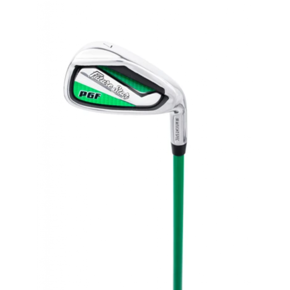 PGF Future Star 7 Iron - Right Hand Green Ages 3+