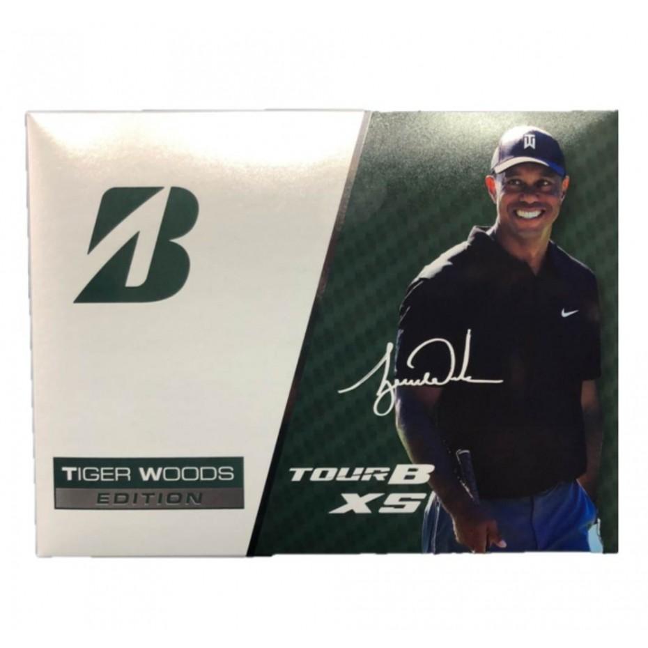 Bridgestone Tiger Tour B XS Collectors Golf Ball Per Dozen 2020