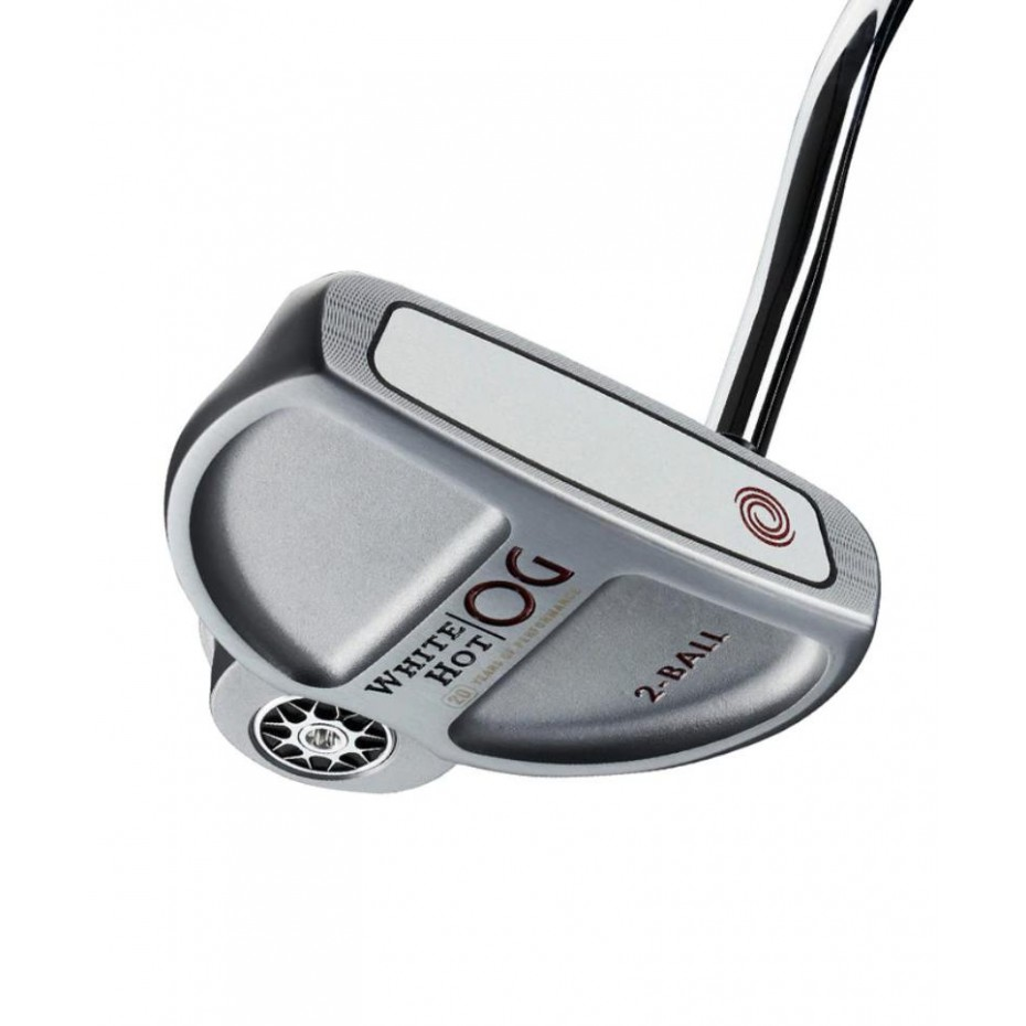 Odyssey White Hot OG Stroke Lab 2-Ball - Left Hand Putter OS Grip