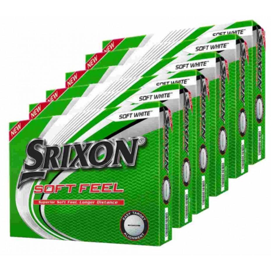 Srixon Soft Feel Golf Ball - 6 Dozen Deal