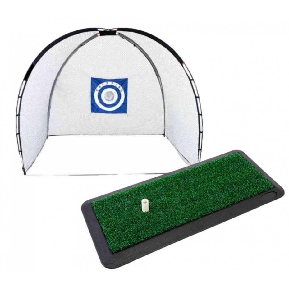 Brosnan Deluxe Cage Net + Hitting Mat Package Deal