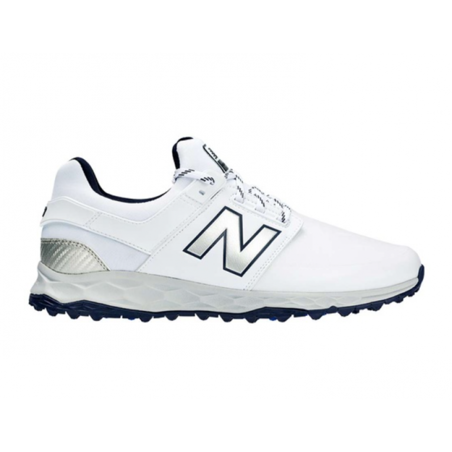 New Balance Mens Fresh Foam Links SL - White Navy