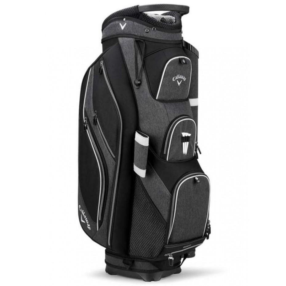 Callaway Forrester 19 Cart Bag Black Silver