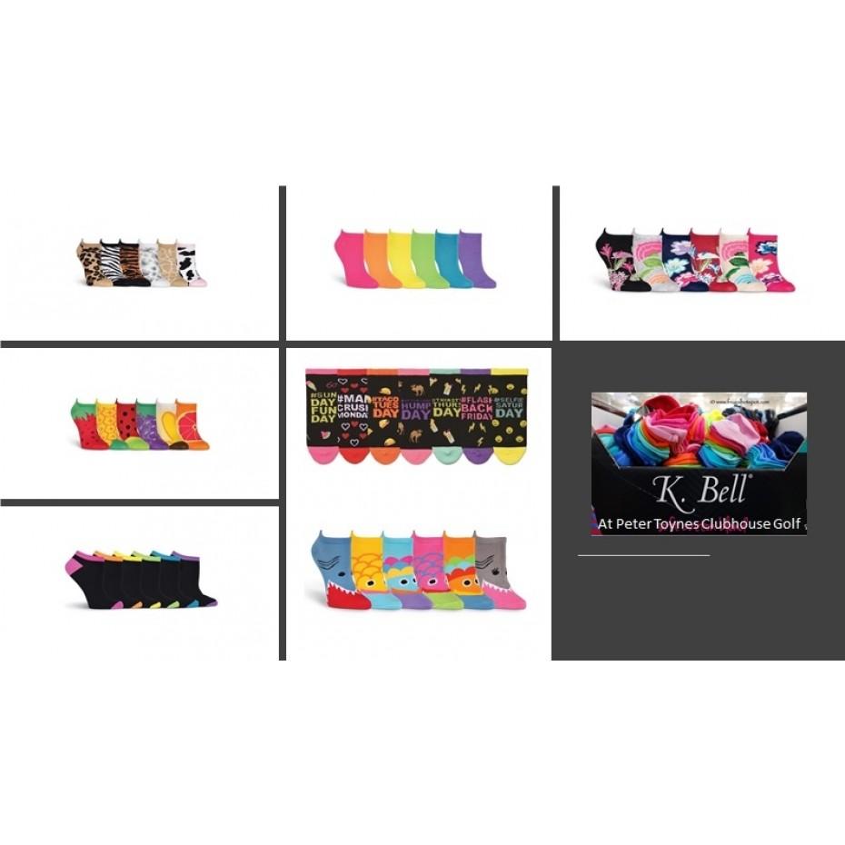 K-Bell Socks 6 Pack