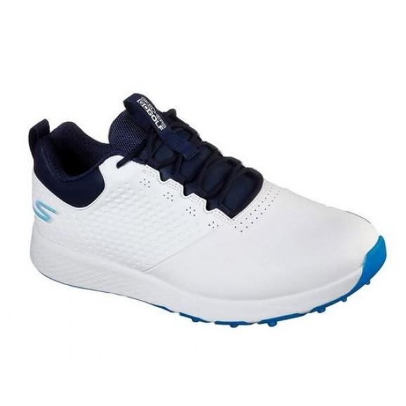 Skechers Mens Elite 4 Prestige Golf Shoe - White Navy