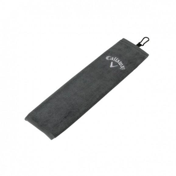 Callaway Towel Tri Fold Corp 16X21 Grey