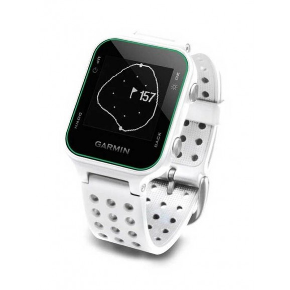 Garmin Approach S20 GPS Watch White Band