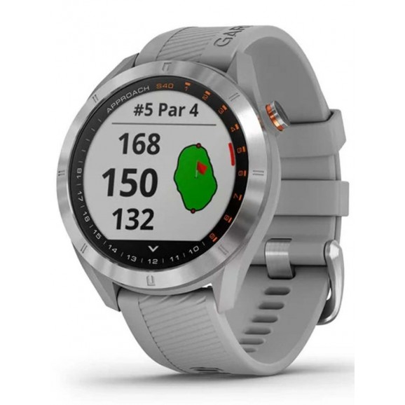Garmin Approach S40 GPS Watch Silver