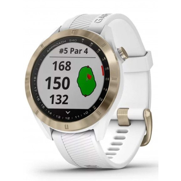 Garmin Approach S40 GPS Watch White