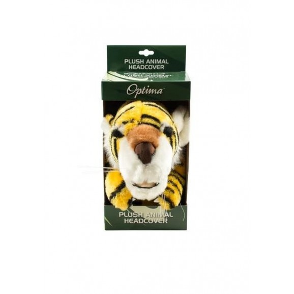 Optima Plush Animal Headcover Tiger