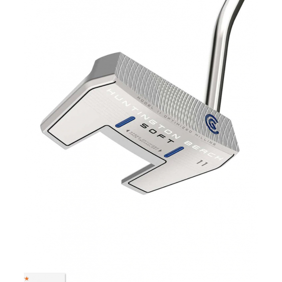 Cleveland Huntington Beach Soft 11 Single Bend Putter GLH 35 Inch Oversized Grip