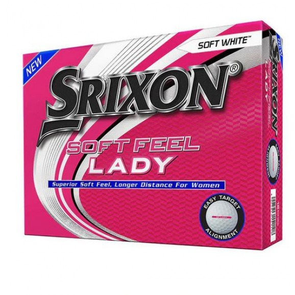 Srixon Soft Feel Ladies 7 White Per Dozen 2020