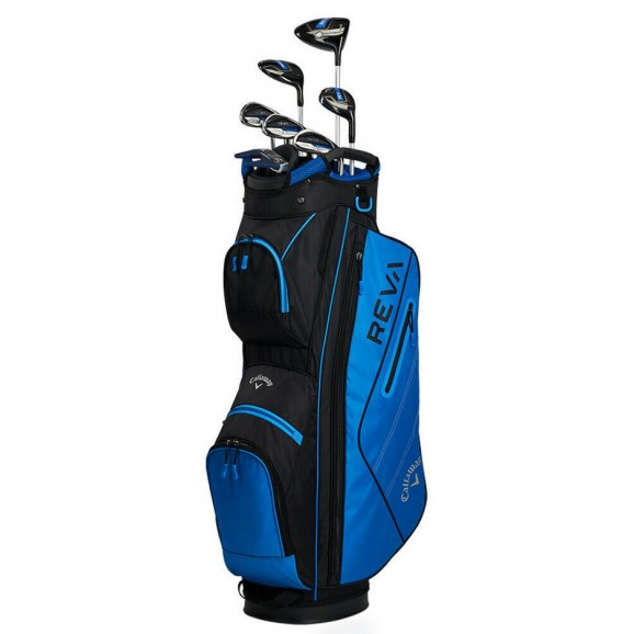Callaway Reva Ladies Right Hand 8 Piece Package Black Blue Bag