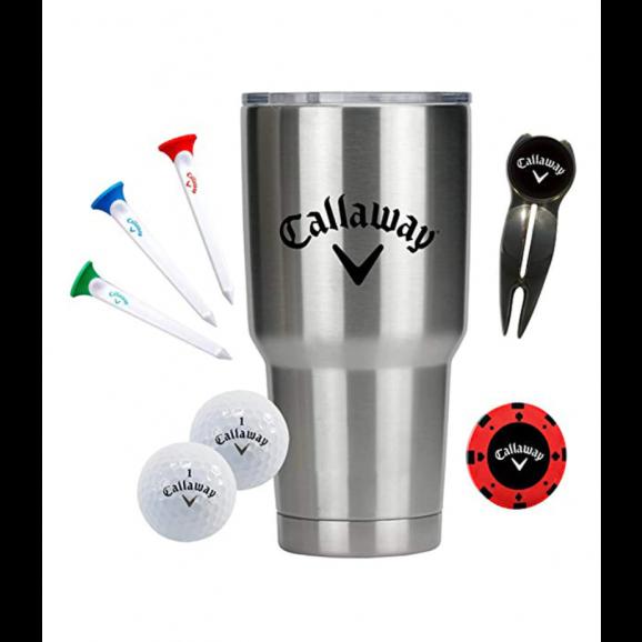 Callaway Stainless Steel Tumbler Gift Set