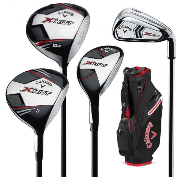 Callaway X Hot Package 2021 Golf Package - Right Hand Regular Flex