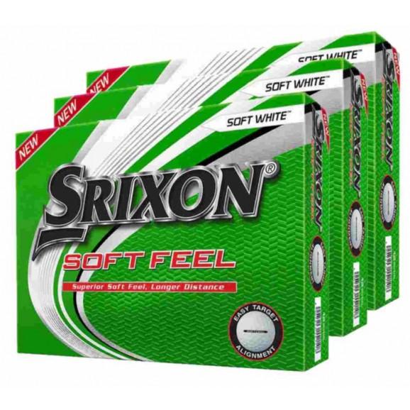 Srixon Soft Feel Golf Ball - 3 Dozen Deal
