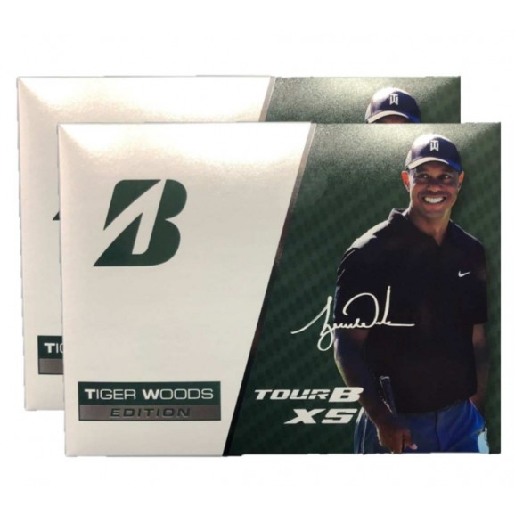 Bridgestone Tiger Tour B XS Collectors Golf Ball - 2 Dozen Deal