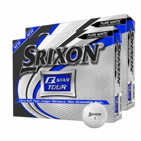 Srixon Q Star Tour 3 Golf Ball Pure White - 2 Dozen Deal