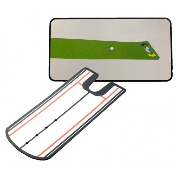 Redback Putting Mat + Alignment Mirror Package Deal