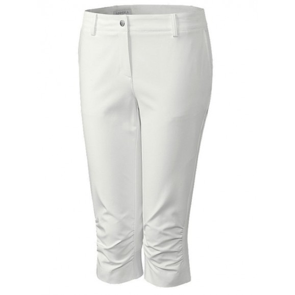 Annika CB Dry Tec 3 Quarter Pants White