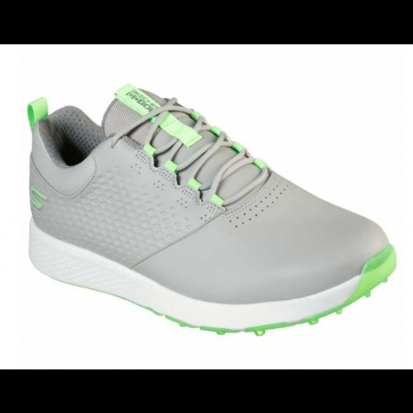 Skechers Mens Elite 4 Golf Shoe - Grey Lime