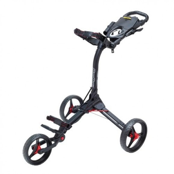Bag Boy Compact 3 Buggy Black Red