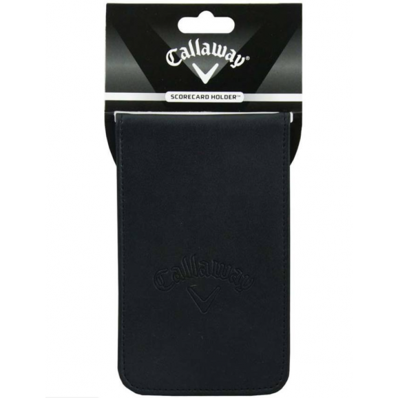 Callaway Scorecard Holder Leather