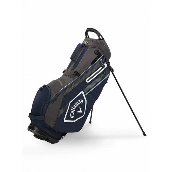 Callaway Chev Stand Bag 21 Charcoal Navy White