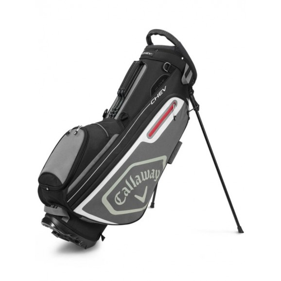 Callaway Chev Stand Bag 20 Black Charcoal