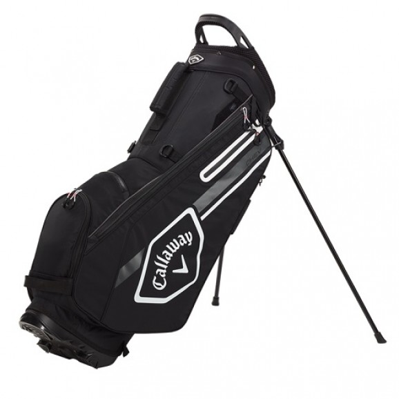 Callaway Chev Stand Bag 21 Black Charcoal White