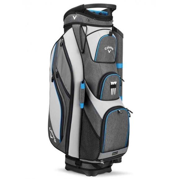 Callaway Forrester 19 Cart Bag Silver Titanium Royal