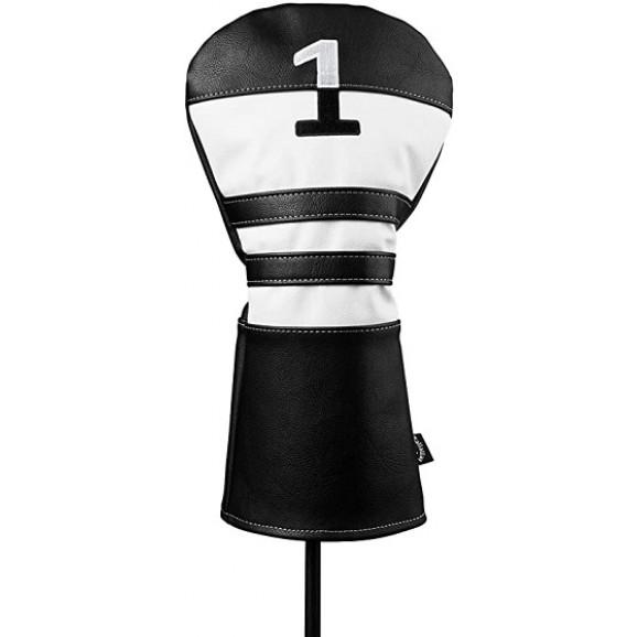 Callaway Vintage Driver Head Cover Black White
