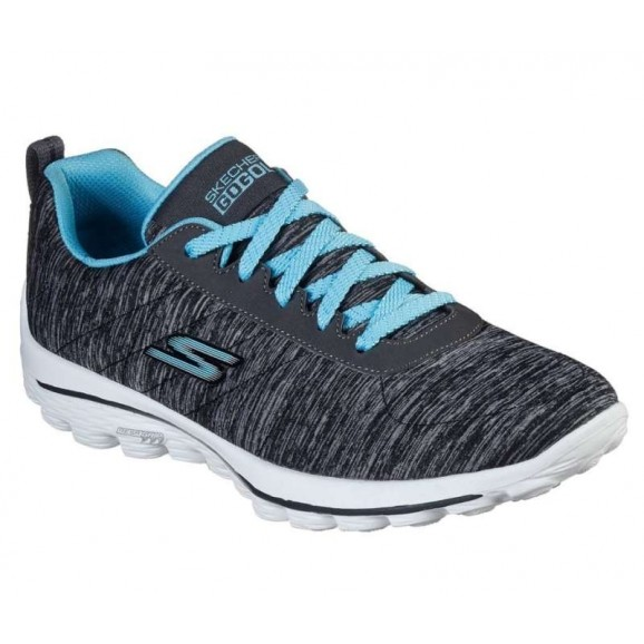 Skechers Performance Ladies Go Walk Sport Golf Shoe Black Blue