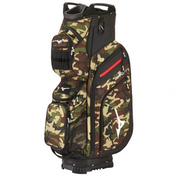 Mizuno BR-D4 2021 Cart Bag Camo/Black