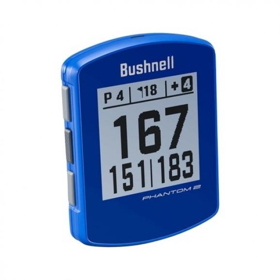 Bushnell Phantom 2 GPS With Magnetic Mount Blue