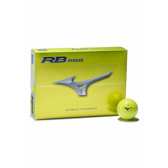 Mizuno RB 566 Golf Balls Per Dozen Yellow