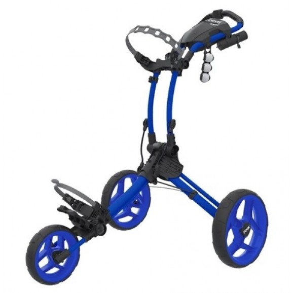 Rovic Compact Collapsible Three Wheeled Buggy Blue
