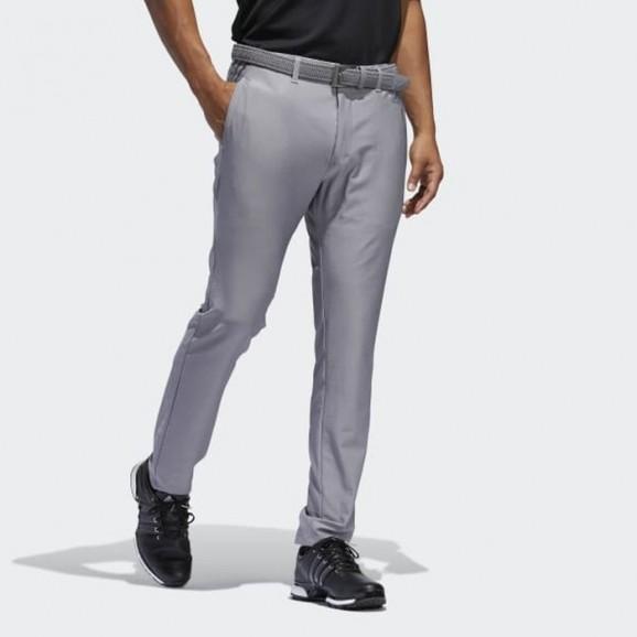 Adidas Mens Pant Ultimate 365 Stipe 3 Taper Leg 32 Grey