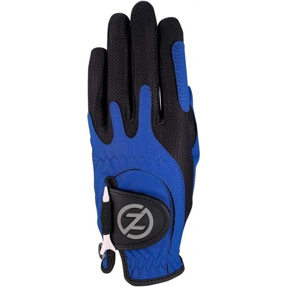 Zero Friction Performance Synthetic Glove MLH Universal One Size Blue Black