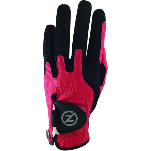 Zero Friction Performance Synthetic Glove MLH Universal One Size Red